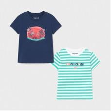 Mayoral-Тениска къс ръкав и цветен принт
