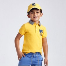 Mayoral- Поло тениска с бродерия