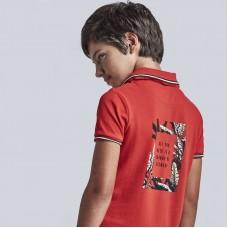 Mayoral-Поло тениска джоб щампа