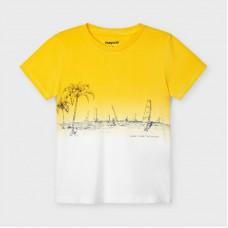 Mayoral-Тениска за момче къс ръкав  dip dye