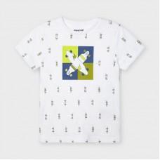 Mayoral-Тениска ECOFRIENDS с къс ръкав и щампа
