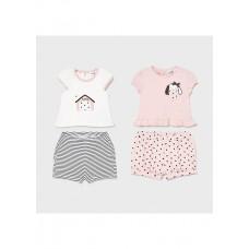 Mayoral-Бебешки комплект от 2 части за момиче черни точки