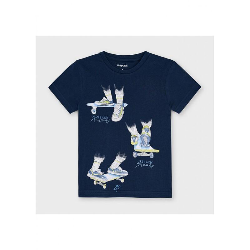 Mayoral-Тениска ready с къс ръкав за момче