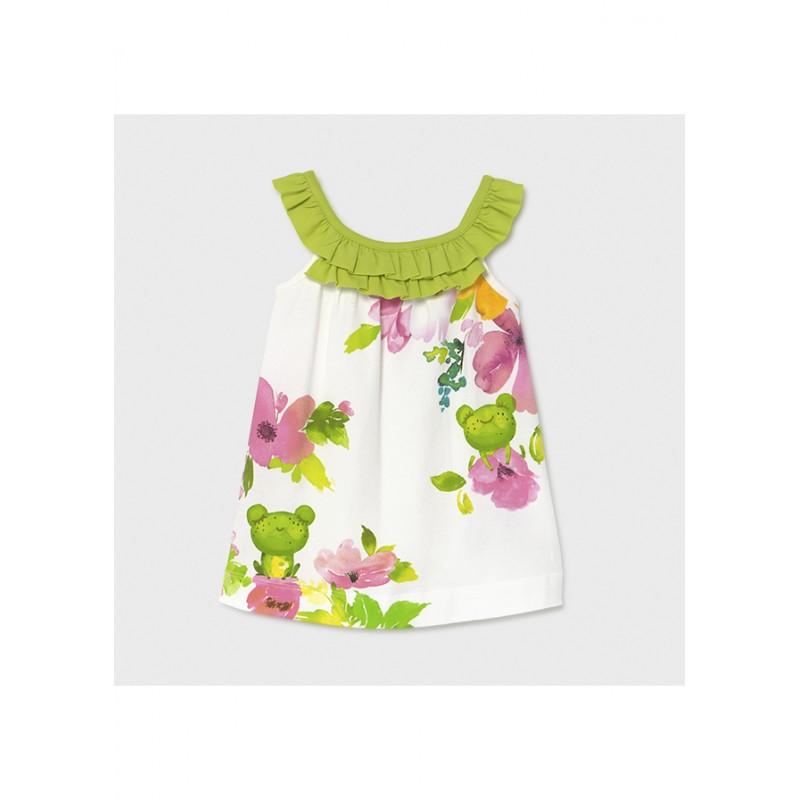 Mayoral-Трикотажна рокля за бебе момиче