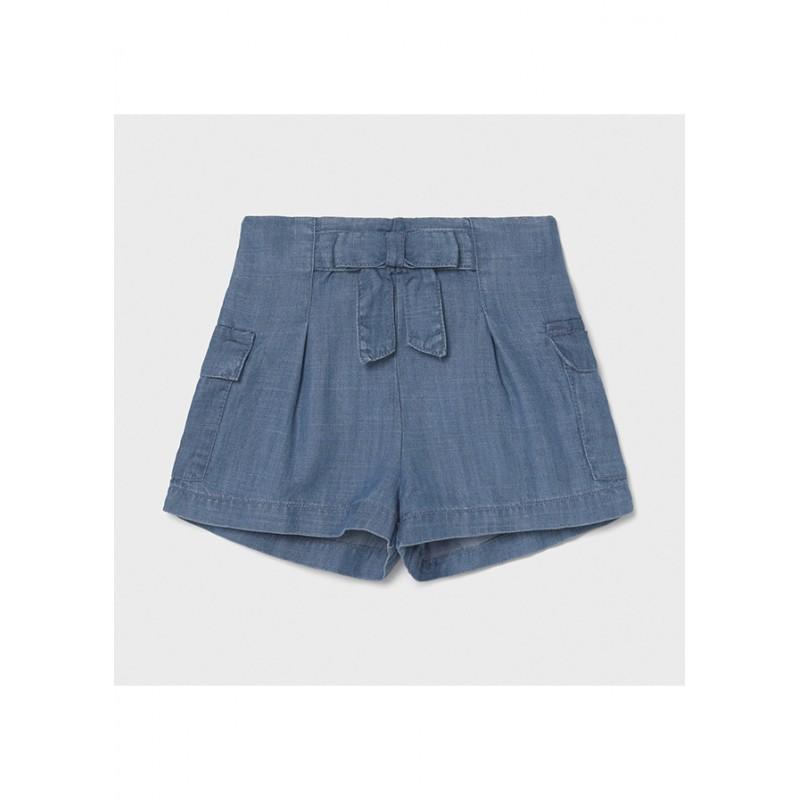 Mayoral-Къси дънкови панталони от лека материя