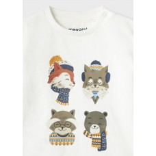 "Mayoral- Тениска дъллъг ръкав с  ""fox"""
