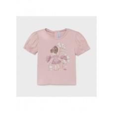 Mayoral-Тениска с апликация Ecofriends-бебе момиче