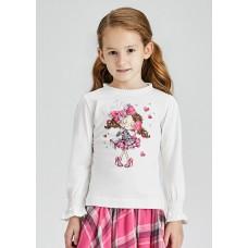 Mayoral- Тениска  дълъг ръкав  кукла