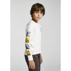 """Mayoral- Тениска """"motor"""" с  дълъг ръкав  за момче"""