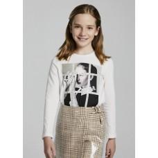 Mayoral-Тениска  дълъг ръкав за момиче със снимка