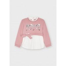 Mayoral-Пуловер комбиниран за момиче