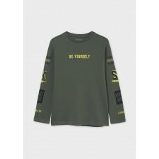 """Mayoral- Тениска """"rider squad"""" с  дълъг ръкав  за момче"""