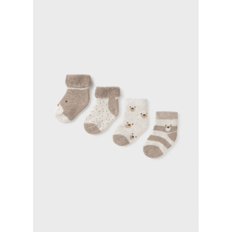 Mayoral-Комплект 4ч. чорапи за бебе момиче