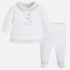 Mayoral-Комплект за бебе-блуза с ританка