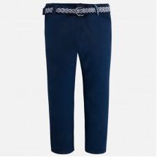 Mayoral-Елегантен тъмно син панталон с колан