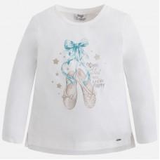 Mayoral-Блуза с  принт пантофки за балет