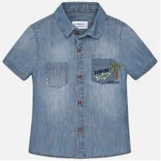 Mayoral- Дънкова риза с къс ръкав