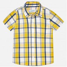 Mayoral- Карирана риза с къс ръкав