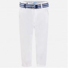 Mayoral-Бял панталон с колан