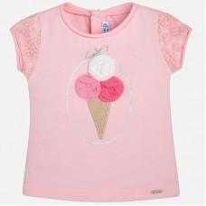 Mayoral-Блуза с апликация сладолед