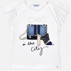 Mayoral-Блуза с принт дамска чанта и обувка