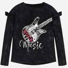 Mayoral-Блуза с принт китара