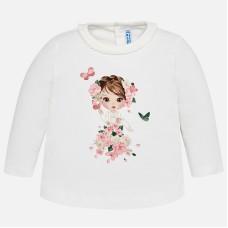 Mayoral-Блуза с принт момиче с цветя