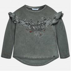 Mayoral-Блуза с дълъг ръкав и принт крила