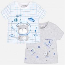 Mayoral-Бебешка тениска с принт космически мотиви