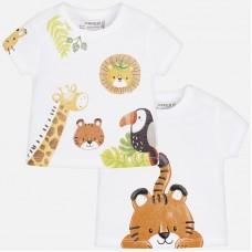 Очаквайте-Mayoral-Бебешка тениска с принт животни 1005-84