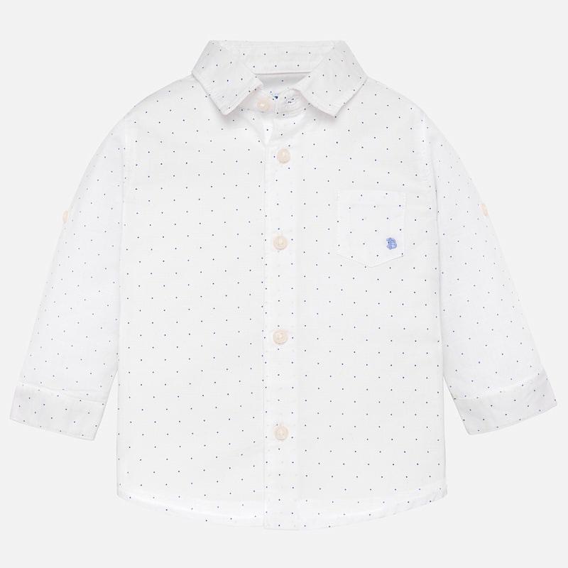Mayoral-Ленена риза с дълъг ръкав