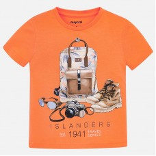 Mayoral-Тениска с принт раница
