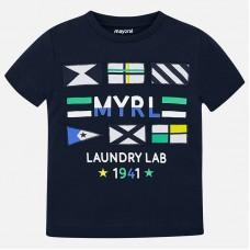 Mayoral-Тениска с принт знамена