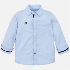 Mayoral-Риза дълъг ръкав едноцветна
