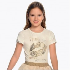 Mayoral-Тениска с блетящи елементи