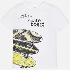 Mayoral-Тениска с надпис SKATE BOARD