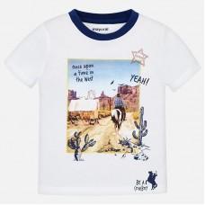 Mayoral-Тениска с цветна апликация
