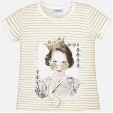 Mayoral-Тениска рае с принт момиче