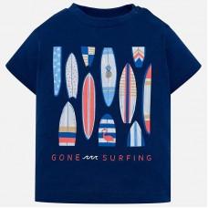 Mayoral-Тениска с принт дъски за сърф