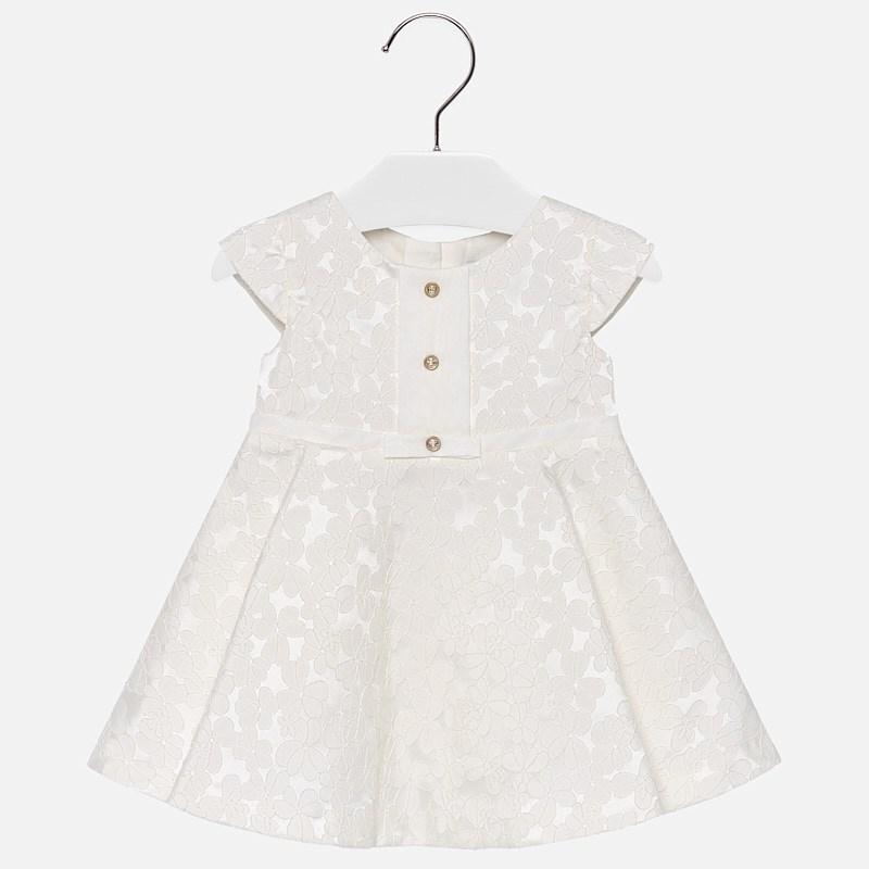 Mayoral-Официална рокля с копченца отпред