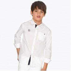 Mayoral-Риза дълъг ръкав с детайл