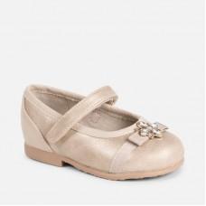 Mayoral-Обувки тип балерина с блестящи елементи