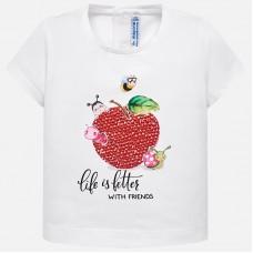 Mayoral-Тениска с принт ябълка