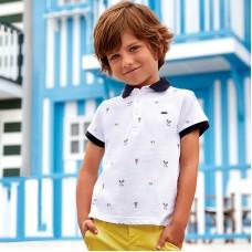 Mayoral-Тениска с яка и щампа