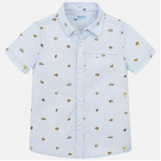 Mayoral-Риза къс ръкав с щампа сафари