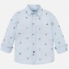 Mayoral-Риза дълъг ръкав с принт тенис аксесоари