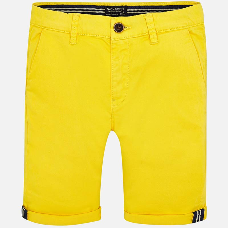 Mayoral-Къси памучни панталони