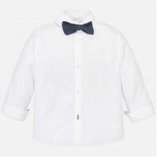 Mayoral-Риза дълъг ръкав с папийонка