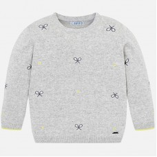 Mayoral-Пуловер с бродерия