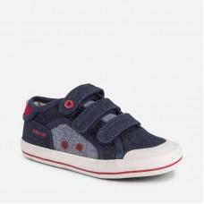 Mayoral-Текстилни обувки с велкро ленти